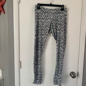 Aperture Active Mint And Grey athletic Leggings